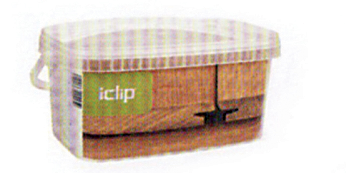 iDeck decking clips in their product packaging