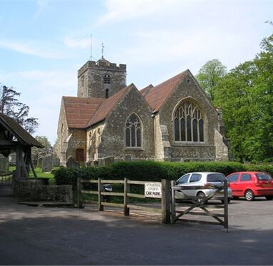 image of a church in the village of Brasted, where Direct Timber is based.
