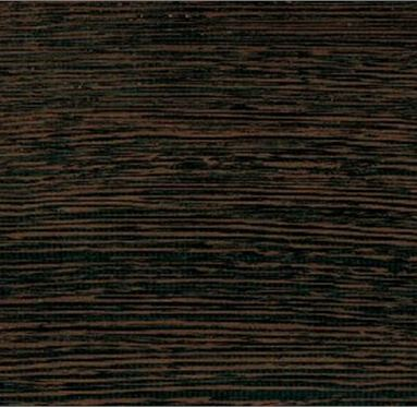close up view of an African Wenge hardwood grain.