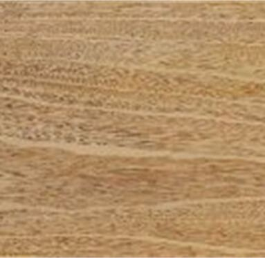 close up view of an African Idigbo hardwood grain.