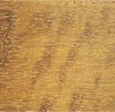close up view of an African Iroko hardwood grain.